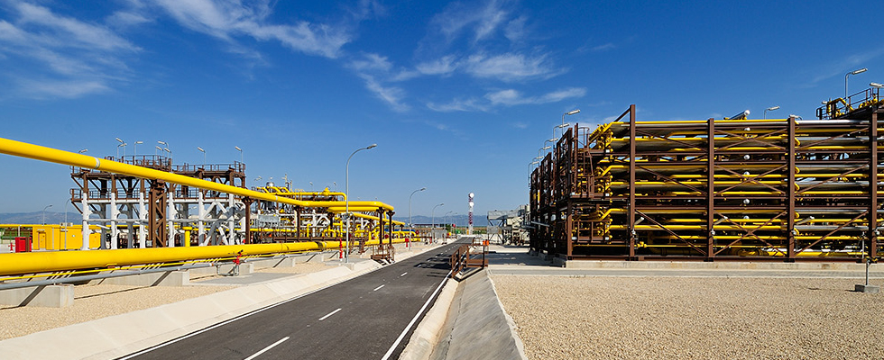Liquefied natural gas plant in Bolivia